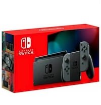 Nintendo Switch Grey Brand New In Box