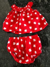 3-6 month Canada Day outfit Toronto, M6L 1X8
