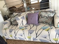 """Sofa bed, Queen size 73"""" long by 34"""" wide. Cover was just bought paid over $50 just for cover.  Clearwater, 33765"""