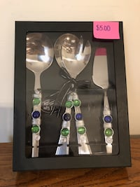 4 Piece Jeweled Serving Set Port St. Lucie, 34983