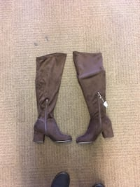Over the knee suede boots Lanham, 20706