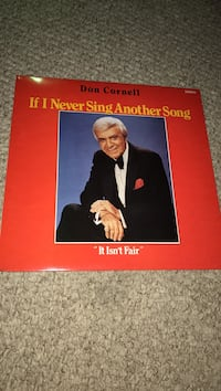 Signed Don Cornell Album-If I Never Sing Another Song Orland Park, 60462