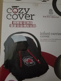 black and red  carseat cover Fort Mill