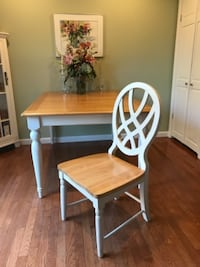 Dining Room or Kitchen Table with 4 Chairs ALEXANDRIA