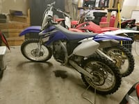 Blue and white motocross dirt bike South Chesterfield, 23834