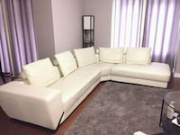 Leather Sectional couch - Like New Toronto