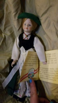 Collectable Porcelain Doll handmade in Austria  Martell, 68404