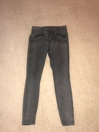black denim straight cut jeans Annandale, 22003