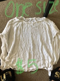 white and gray stripe long-sleeved shirt Tempe, 85283