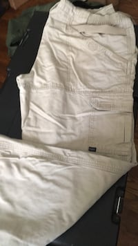 Royal Robbins gray lightweight hiking pants ARLINGTON