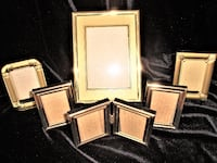 NEGOTIABLE - 7  QUALITY PHOTO FRAMES - FOR PICTURES, PHOTOS, ART WORK OTTAWA
