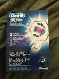 white Oral-B Pro 3000 toothbrush box Calgary, T2W 2E6