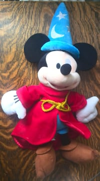 Mickey Mouse Plush - Sorceror's Apprentice Edition London