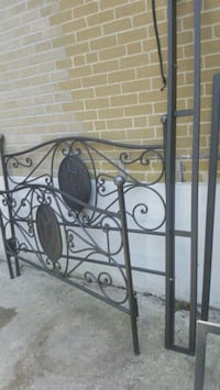 black metal headboard and footboard Toronto, M9V 1B3
