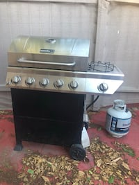 stainless steel gas grill with gas tank Los Angeles