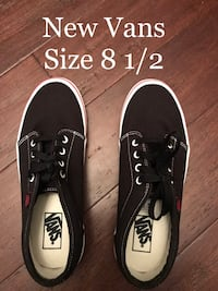 Brand New Black Atwood Vans Mens Size 8 1/2 $30
