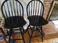 two black wooden windsor chairs Fairfax, 22030