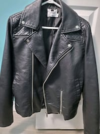 Leather jacket from Topshop