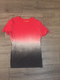red and gray crew-neck t-shirt Victoria, V8X 1W1