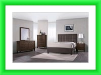 Bedroom Set with mattress and box spring brand new Falls Church, 22041