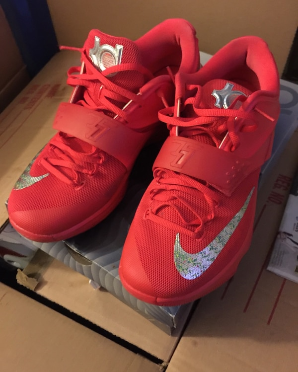 reputable site c4789 6ea77 Kd 7 global warming red sz 10.5 ( ok condition)
