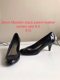 Pair of black leather pumps Elkridge, 21075