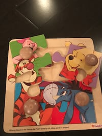 Winnie the Pooh wooden puzzle