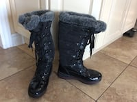 BLACK WATERPROOF WINTER BOOTS SIZE 6.5 Montréal, H9K 1S7