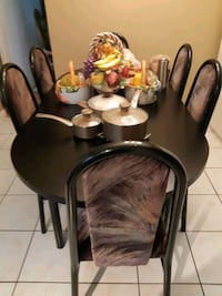 Dining table 6 chairs  Surrey, V3T 3P7