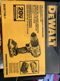 "New Dewalt 1/2"" brushless hammerdrill kit Henderson, 89074"