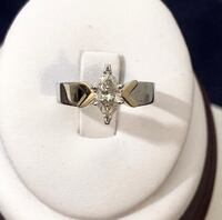 14K Gold .60ct. Diamond Engagement Ring // Certified at $3,600 Vaughan, L4J