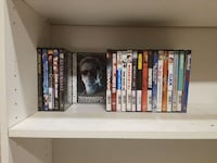 DVD movie case collection