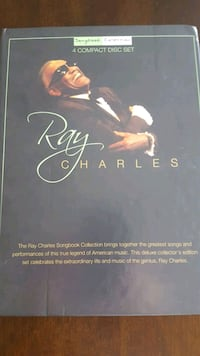 Ray Charles 4 CD & Booklet collection. Hallandale Beach, 33009