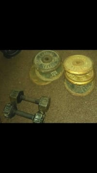 80pounds in weights  Detroit, 48209