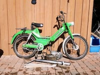 1976 Bombardier/Puch Maxi S Moped Project 647 km