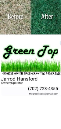 Lawn painting/Lawn Care Las Vegas