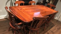 Custom solid wood dining table (chairs extra) Vaughan, L4L 1H1