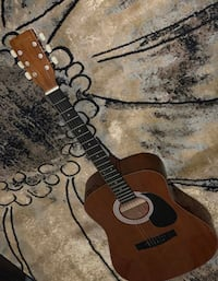 Black and brown acoustic guitar Hanover, 21076
