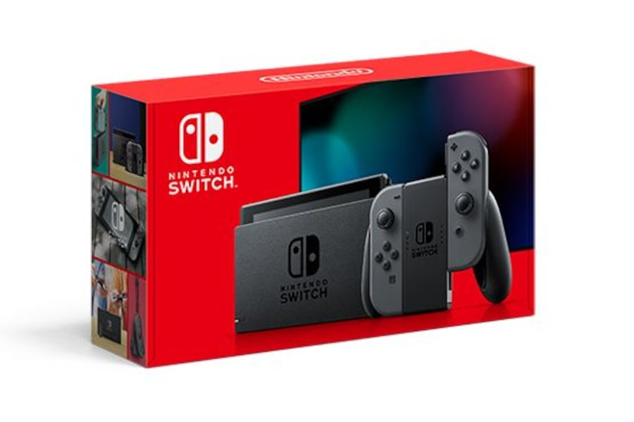 Nintendo Switch New and sealed Grey and Neon 05172cdc-dbab-46d8-baa1-5ba01fdf2fb5