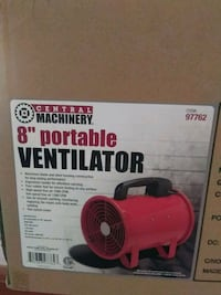 "8"" Portable Ventilator Bradenton, 34207"