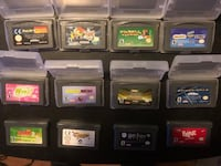 .. 12 GBA Games (Game boy Advance) $15 for all 3151 km