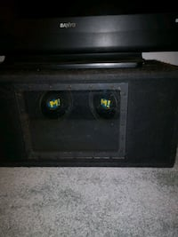Wicked sub box system with scosche amp