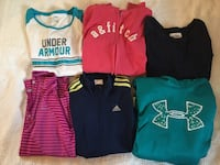 Girls clothes size large and xlarge under armour Nike Abercrombie prices on each picture  Winchester, 40391