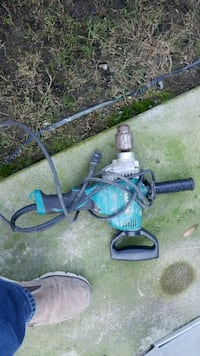 black and blue corded power tool Abbotsford, V4X 1L9