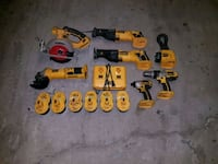 Used DeWalt 18v 7 piece combo set Vaughan, L6A 3X8