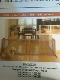 free standing pet gate Rochester, 14606