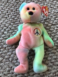 Peace Beanie Baby 1990's Washington, 20003