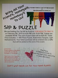 SIP & PUZZLE Windsor Mill, 21244