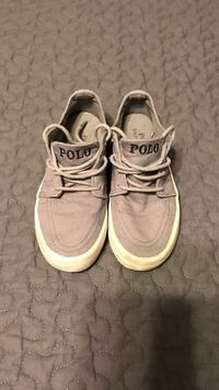 Kids (boys) Polo canvas shoes size 10 1/2
