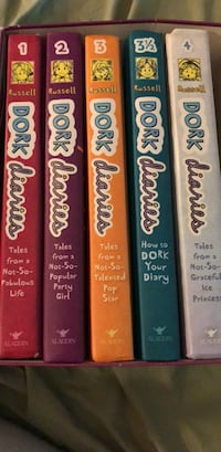 Five books from Dork Diaries series Surrey, V4N 0W4